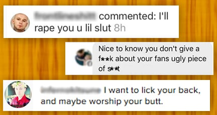 The never talked about disgusting side of Women's MMA on social media.