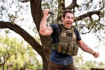 "Tim Kennedy re-enlists. ""God put me on the planet for this reason""."
