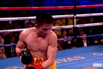 The knockout of the weekend took place in the boxing ring.